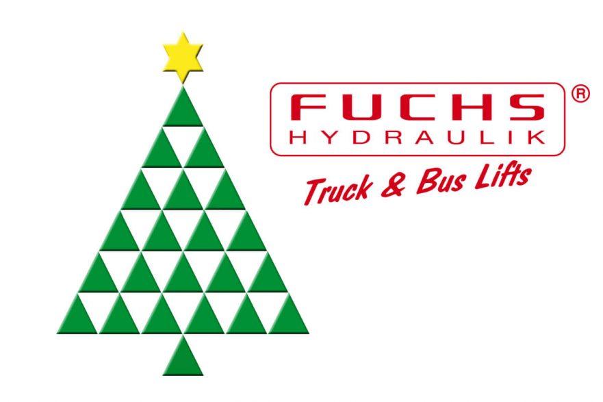 Frohe Weihnachten Fuchs Hydraulik