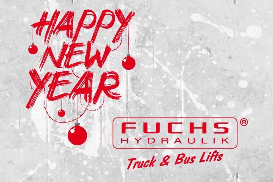 Frohes Neujahr 2018 Fuchs-Hydraulik Kirn
