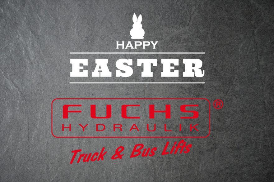 Frohe Ostern 2018 Fuchs Hydraulik