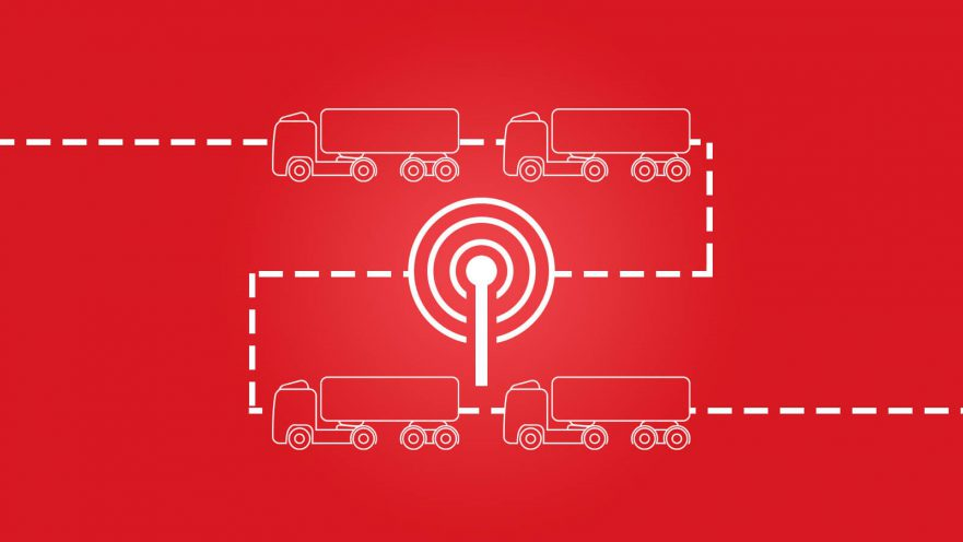 Autonomer Güterverkehr: LKW Platooning